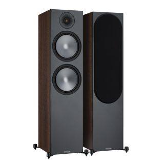 Monitor Audio Bronze 500 (6G) Standlautsprecher Walnuss [Paar]